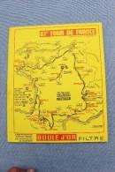 CYCLISME     TOUER  DE  FRANCE     1974     PROGRAMME. - Cycling