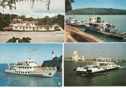 4 CP - L' Ilienne (Ile De Ré) Cotton Blossom - Benedic (Port De Bangui - Bateau De Plaisance  (77275) - Ships
