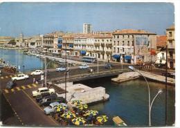 CPSM 34 SETE LE NOUVEAU PONT SUR LE CANAL 1967   Grand Format 15 X 10,5 Cm - Sete (Cette)