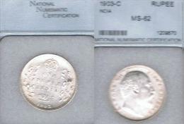 INDIA RUPIA RUPEE EDUARDO VII 1903 PLATA SILVER - Indien