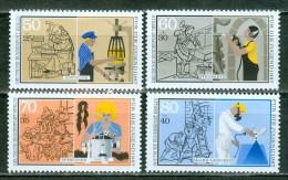 BERLIN - Komplettsatz Mi-Nr. 780 - 783 Handwerksberufe Postfrisch - Ungebraucht