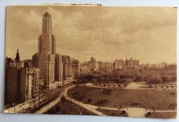 Parque Retiro Y Edificio Kavanagh 1919 Viaggiata Formato Piccolo In Ottimo Stato - Argentinië
