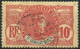 Haut Senegal Et Niger (1906) N 5 (o) - Oblitérés