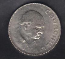 RedC - GRAN BRETAGNA , Medaglia Del 1965 Dedicata A W. Churchill - Regno Unito