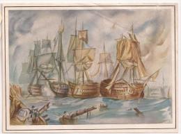 Cromos BARCOS VELEROS BRITANICOS - Documentos Antiguos