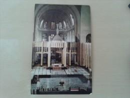 Kleurkaart Brussel Koekelberg nationale basiliek van het Heilig Hart hoogkoor