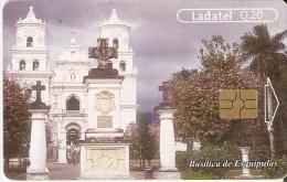TARJETA DE GUATEMALA DE LA BASILICA DE ESQUIPULAS (LADATEL) - Guatemala
