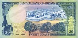 JORDAN P. 22c 20 D 1985 UNC - Jordanië