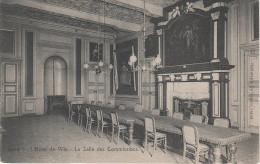 CPA - AK Gent Gand L´ Hotel De Ville La Salle Des Commissions Bei Brugge Brügge Brüssel Bruxelles Liege Lüttich Namur - Gent