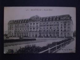 """FRANCIA CARTE POSTAL DEAUVILLE ORIGINAL EPOCHE COLLECTION """"  BON CONDITION SIMILAR RARE.... - Francia"""