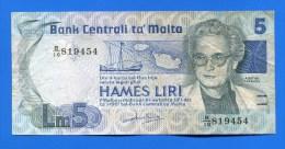 Malte   5  Liri - Malte