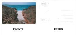 CARTOLINA COLORI BOA VISTA – CABO VERDE – PRAIA DE TIA DORA NON VIAGGIATA  DIMENSIONI CM 10,4x15,4 CONDIZIONI BUONE - Capo Verde