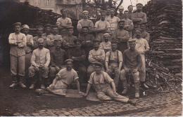 AK Gruppe Deutsche Soldaten - Sägewerk - 1. WK (14430) - Guerra 1914-18