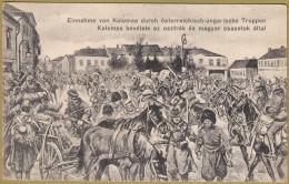 WW1 - AK AUSTRO-HUNGARIAN ARMY ... Kolomea Bevetele Az Osztrak ... ( Ukraine ) * Not Travelled * By J.Orenstein Kolomyja - Ukraine