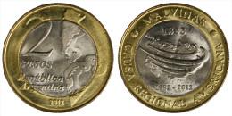ARGENTINA 2 PESOS 2012 (ISOLA MALVINAS) FDC/UNC §298 - Argentine