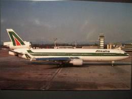 MD 11 I-DUPI ALITALIA   ITALIAN COMPANY ITALIA ITALIE Milano Malpensa - 1946-....: Modern Era
