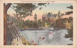 Boldt Estate Thousand Islands Saint Lawrence River New York City