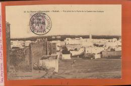 MAROC  RABAT Vue Prise Porte De La Cabah Des Oudayas  Timbre 2 Cts  Oblitération Trésor Et Postes Aux Armées  1911   Mai - Rabat