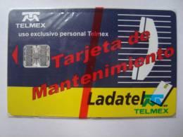 M�XICO - TEST CARD - MAINTENANCE - NSB - VERY RARE