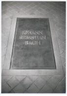 Germany Leipzig Johann Sebastian Bach Composer Music Compositeur Musique 10 X15 Cm Card - Musique Et Musiciens