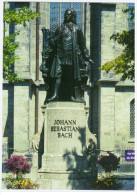Germany Leipzig Johann Sebastian Bach Composer Music Compositeur Musique 10 X15 Cm Card - Musica E Musicisti