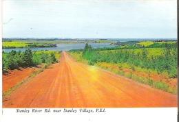 Stanley River Road, Near Stanley Village, Prince Edward Island Glue On Back Colle En Dos - Ile Du Prince-Édouard