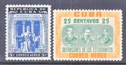 C UBA  C 73-4    **  MEDICINE - Airmail