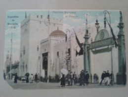 Bruxelles Exposition Universelle De 1910 Pavillon Espagnol Et France - Expositions Universelles