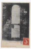 (RECTO / VERSO) CHATILLON COLIGNY EN 1907 - CHATEAU - TOMBEAU DE GASPARD DE COLIGNY AMIRAL DE FRANCE 1517 - 1572 - Chatillon Coligny