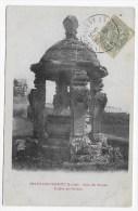 (RECTO / VERSO) CHATILLON COLIGNY EN 1907 - PUITS DES ARCADES SCULPTE PAR GOUJON - BEAU CACHET - Chatillon Coligny