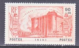 ININI  B 3    * - Unused Stamps