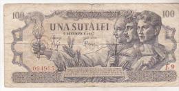 Romania 100 Lei 1947 , 5 December - Rumania