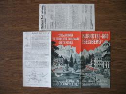 KURHOTEL BAD ISELSBERG - Dépliants Touristiques