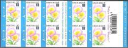 Belgique 2009 COB Carnet 99 Neuf ** Cote (2016) 25.00 Euro Tulipe Bakeri - Markenheftchen 1953-....