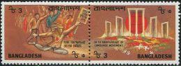 SA0183 Bangladesh 1987 Monument 2v MNH - Bangladesh