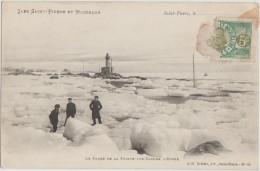 CPA SAINT PIERRE ET MIQUELON Lighthouse Phare De La Pointe Aux Canons - Saint-Pierre-et-Miquelon