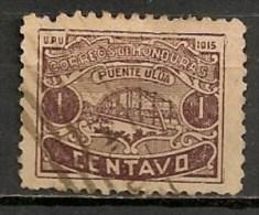 Timbres - Amérique - Honduras - 1915 - 1 Centavo - - Honduras