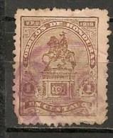 Timbres - Amérique - Honduras - 1919/20 - Monument - 1 Centavo - - Honduras
