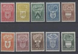 Nrs 743-47  + 756-60  ** - Belgique