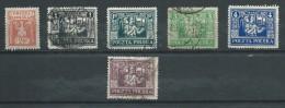 Allemagne  -Lithuanie - Oberschlesien - 1922/3 - Michel 3-7-8-10-11-15  - Oblit. & Neuf * - Occupation 1914-18