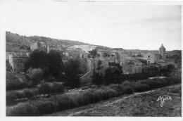 LANAS  Carte Photo  Vue Générale  1953 - France