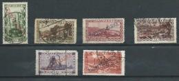 Allemagne  - Sarre - Service - 1927 - Michel 16-17-18-19-20-21 - Oblit. - Germany
