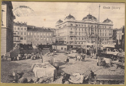 RIJEKA - Obala Sapary ( Croatia ) Travelled 1911. * Naklada V. Lenac I G. Sikic 10% Za Materinsku Riec .. Susak-Rieka - Croatia