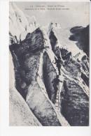 DAUPHINE, Massif De L'Oisans, Ascension De La Meije, Escalade D'une Crevasse, Alpinistes, Ed. M. Bourcier, Grenoble - Escalade