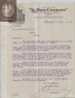 """Document  Du 18/05/1912 """"LE PRIX COURANT"""" -  Montréal - Canada - Canada"""