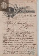 Document  Du 11/03/1897 HENRY HOGAN - ST LAWRENCE HALL -  Montréal - Canada - Canada