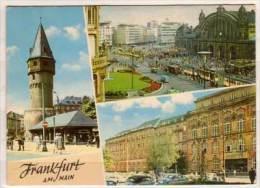 Frankfurt Am Main , Beckenheimer Warte - Hauptbahnhof - Universität , Mehrbildkarte - Frankfurt A. Main