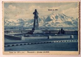 Cuneo Monumento A Giuseppe Garibaldi Viaggiata F.g. Buono Stato - Cuneo