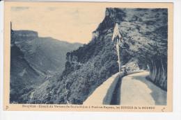 PONT EN ROYANS, (38-Isère), Dauphiné, Circuit Du Vercors De Goule Noire, Les Gorges De La Bourne, Ed. A. Mollaret 1930 - Pont-en-Royans