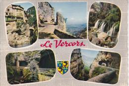 LE VERCORS, Blason, Pont En Roayans, Grands Goulets, Cascade, Ed La Cigogne 1963 - Rhône-Alpes